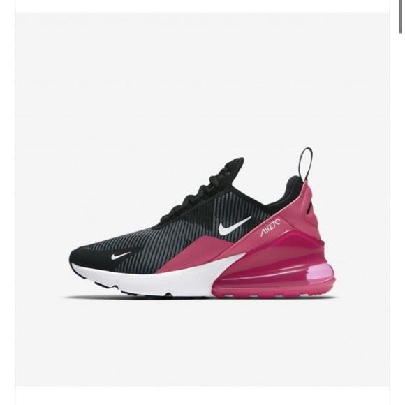 Nike Shoes Womens Air Max 270 Jacquard Blackgreypink Poshmark
